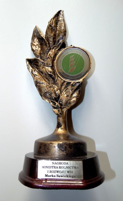 Award of the Minister of Agriculture and Rural Development