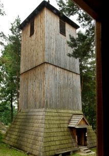 Bell tower from Wielgie